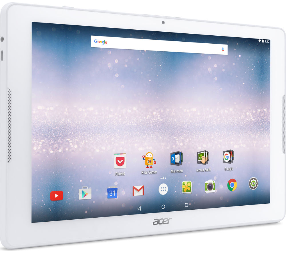 acer iconia one 10 1 tablet 16 gb white deals pc world. Black Bedroom Furniture Sets. Home Design Ideas