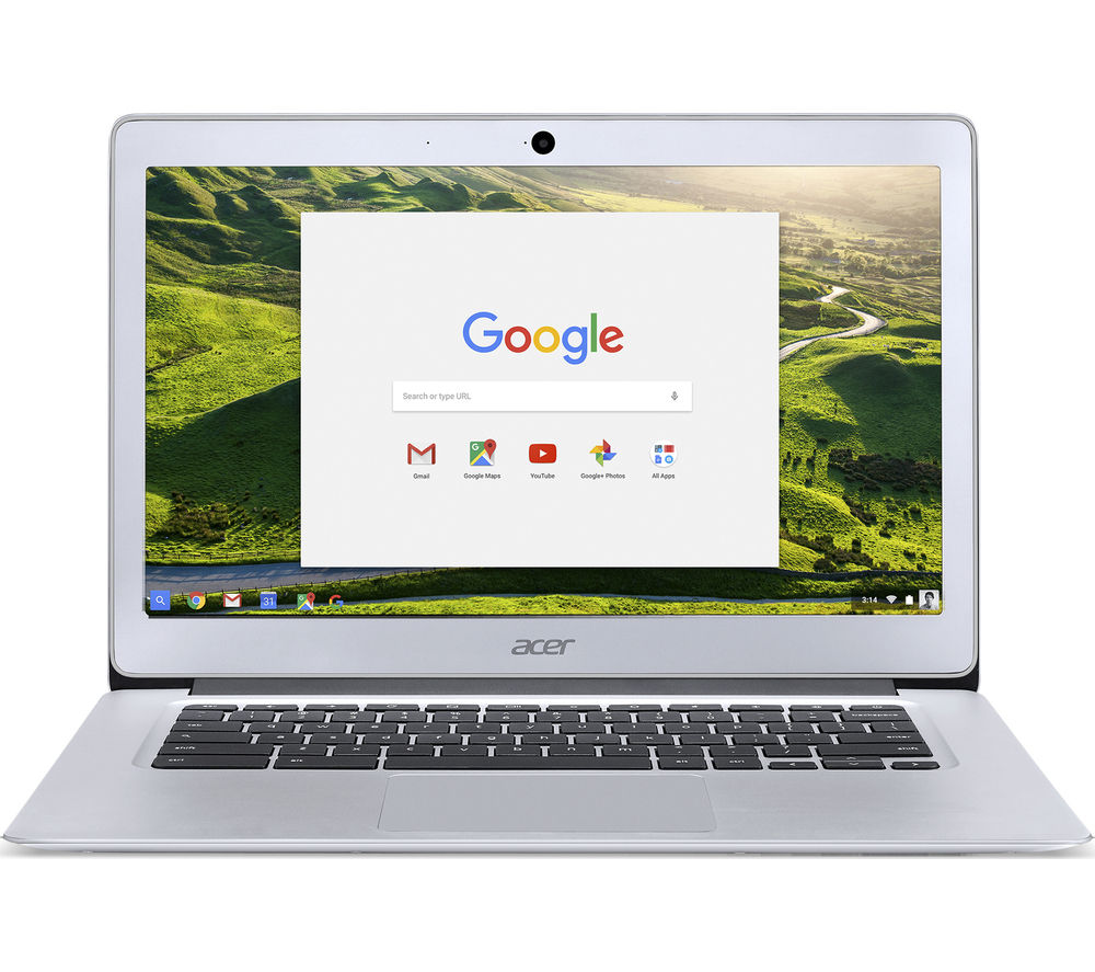 "ACER CB3-431 14"" Full HD Chromebook - Silver"