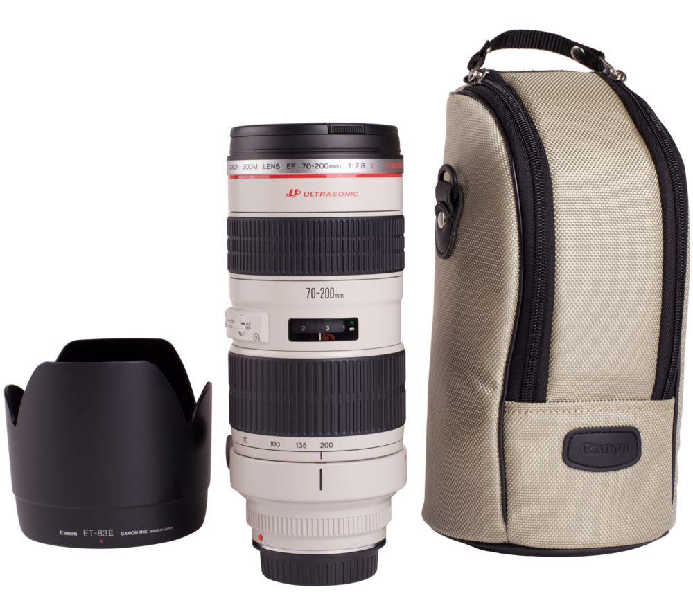 CANON EF 70-200MM f/2.8 L USM Telephoto Zoom Lens