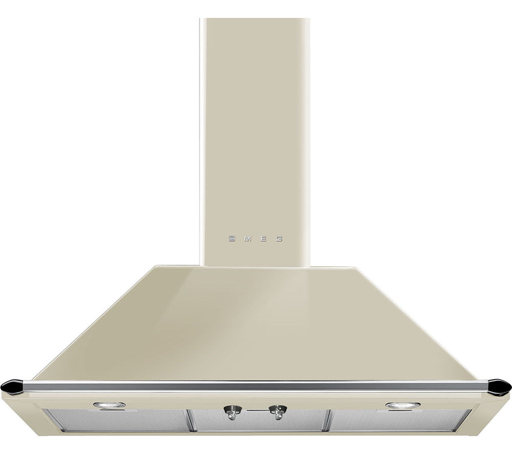 SMEG  Victoria KT90PE Chimney Cooker Hood  Cream Cream
