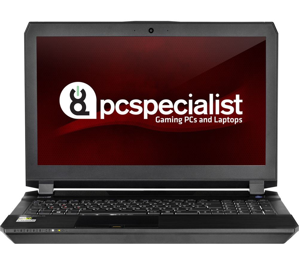 "PC SPECIALIST Defiance III RS15-X 15.6"" Gaming Laptop - Black + Office 365 Personal"
