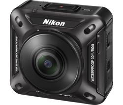 NIKON KeyMission 360 Action Camcorder - Black