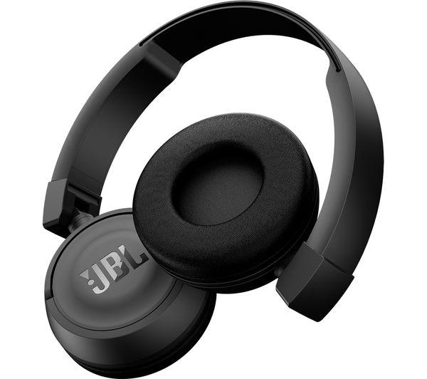 jbl t450bt wireless bluetooth headphones black deals pc world. Black Bedroom Furniture Sets. Home Design Ideas
