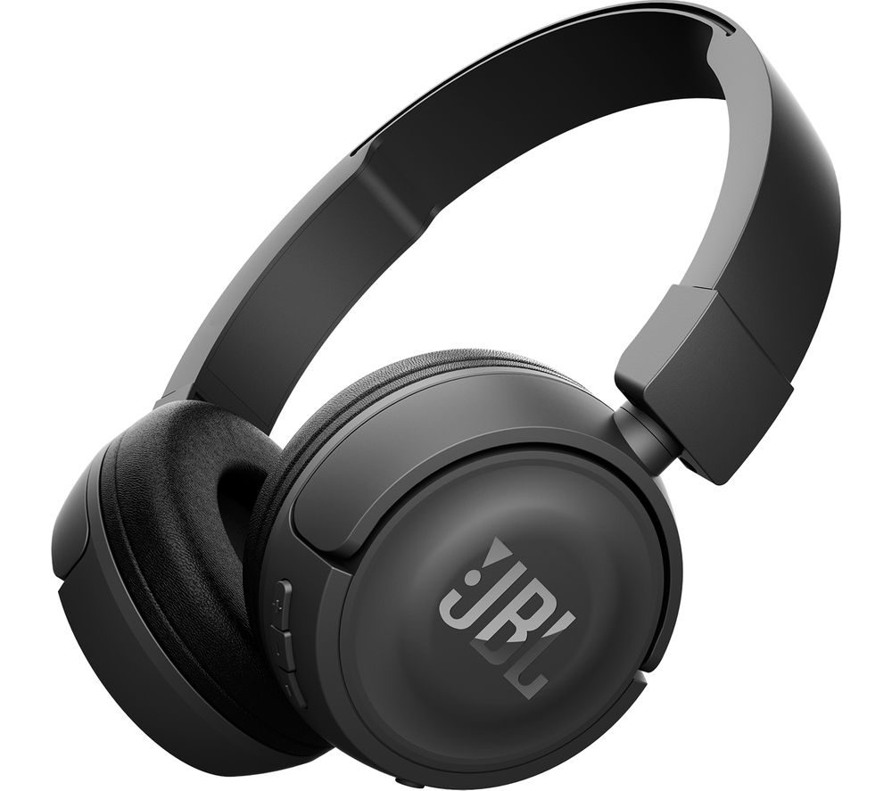 buy jbl t450bt wireless bluetooth headphones black free delivery currys. Black Bedroom Furniture Sets. Home Design Ideas
