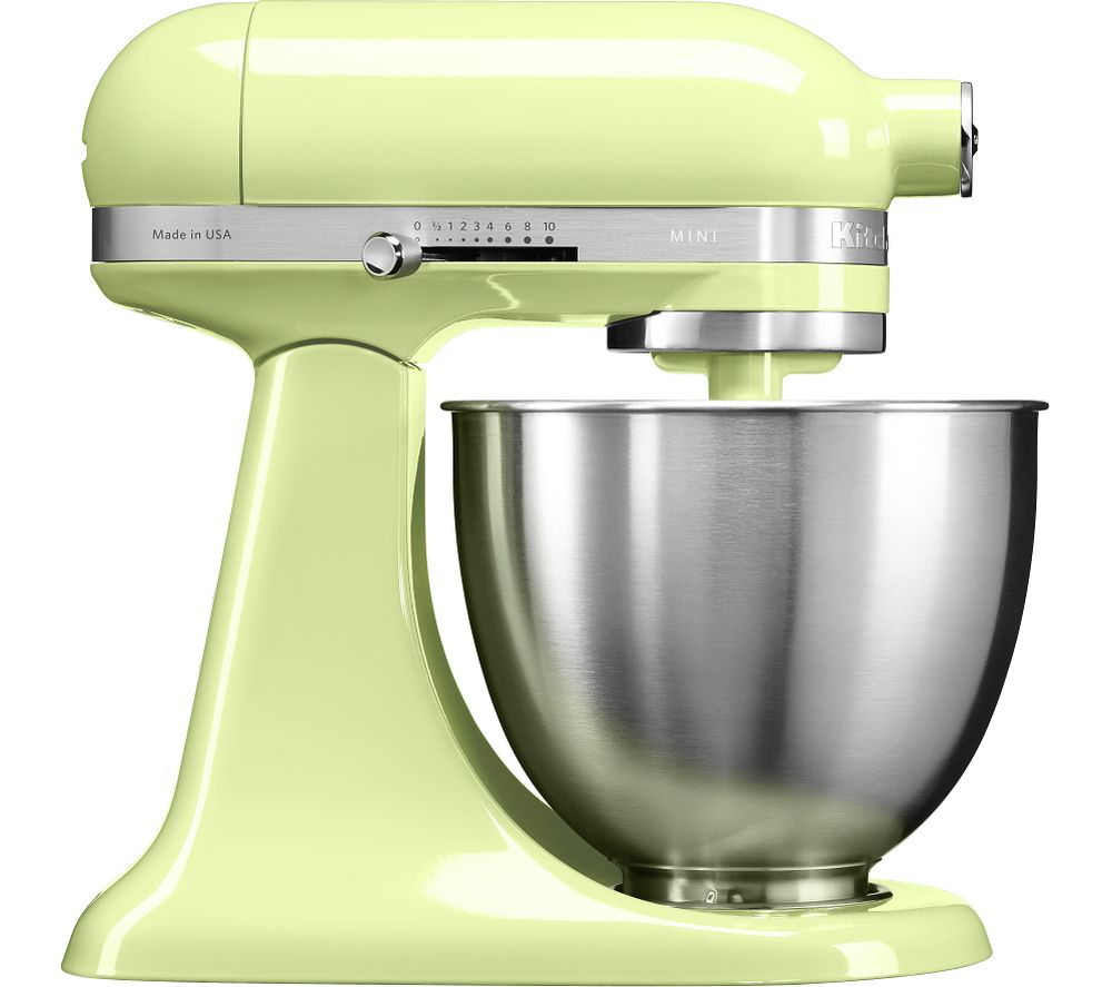 buy kitchenaid artisan mini 5ksm3311xbhw stand mixer honeydew free delivery currys. Black Bedroom Furniture Sets. Home Design Ideas
