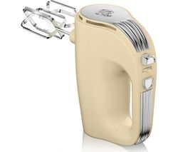 SWAN Retro SP20150CN Hand Mixer - Cream