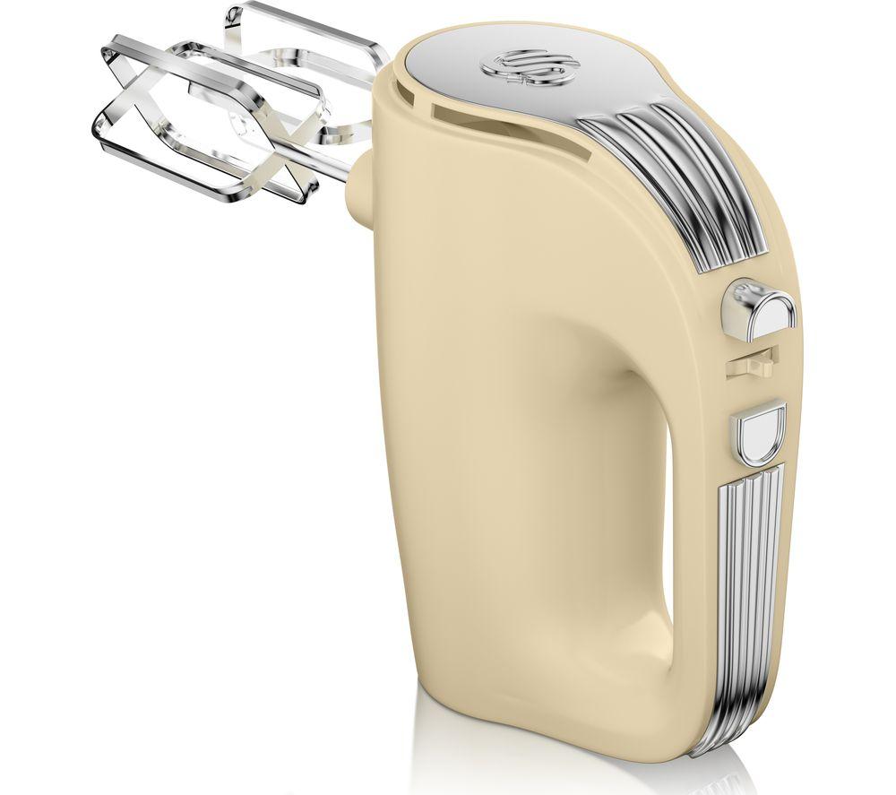 SWAN Retro SP20150CN Hand Mixer  Cream Cream