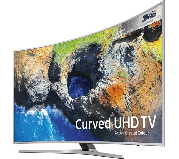 buy samsung ue55mu6500 55 smart 4k ultra hd hdr curved led tv free delivery currys. Black Bedroom Furniture Sets. Home Design Ideas