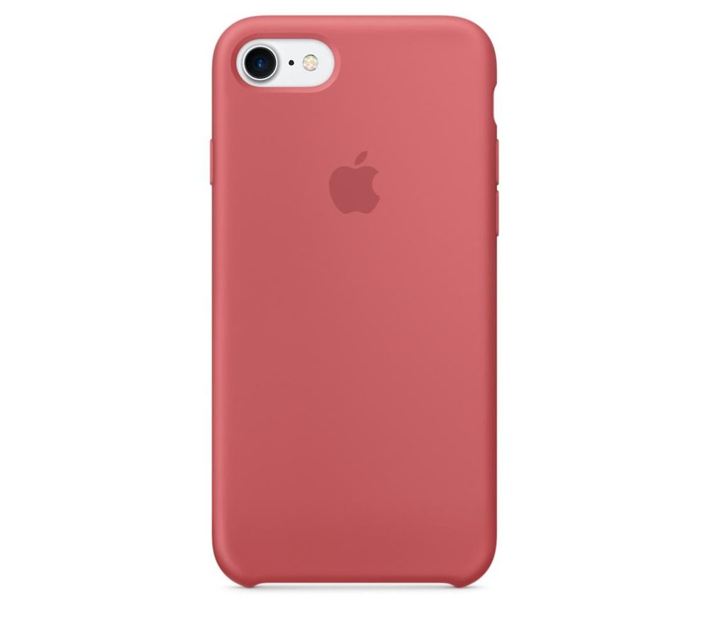 APPLE Silicone iPhone 7 Case - Camelia.