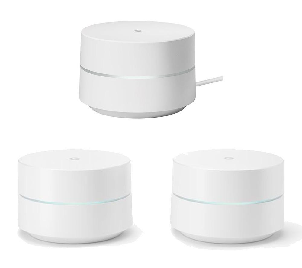 GOOGLE WiFi Whole Home System - Triple Pack Bundle