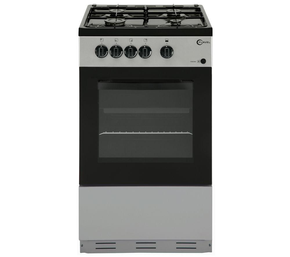 FLAVEL FSBG51S Gas Cooker - Silver