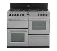 BELLING Classic 110GT Gas Range Cooker - Silver