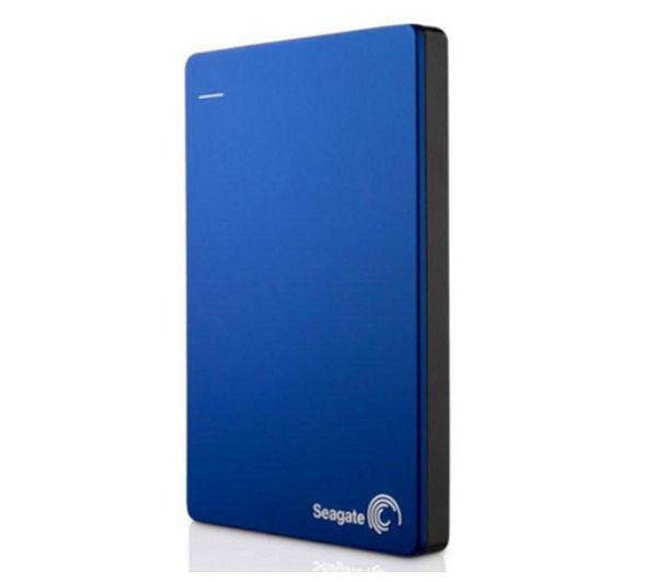 SEAGATE Backup Plus Slim Portable Hard Drive - 1 TB, Blue