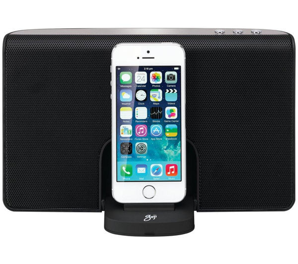 Image of GOJI GRLIB14 Portable Speaker Dock - with Apple Lightning Connector
