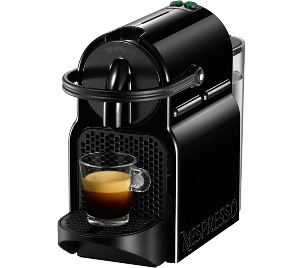 NESPRESSO  11350 Nespresso Inissia Coffee Machine  Black Black