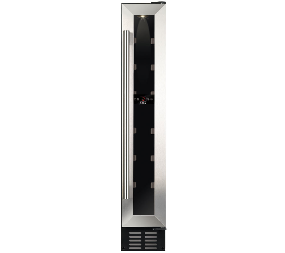 CDA  FWC152SS Wine Cooler - Stainless Steel +  WMFUG742G SMART Washing Machine - Graphite