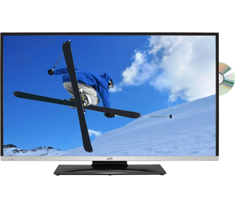 JVC  LT32C655 Smart 32 LED TV with Builtin DVD Player