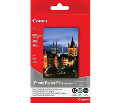 CANON 100 x 150 mm Photo Paper - 50 Sheets