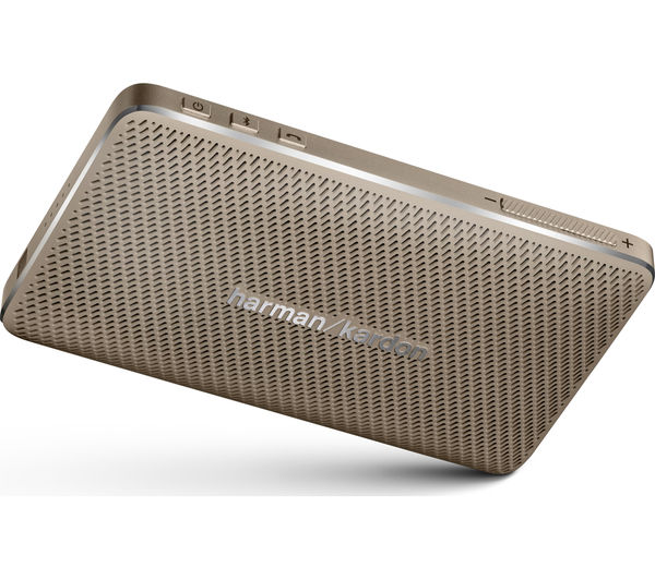 buy harman kardon esquire mini portable wireless speaker gold free delivery currys. Black Bedroom Furniture Sets. Home Design Ideas