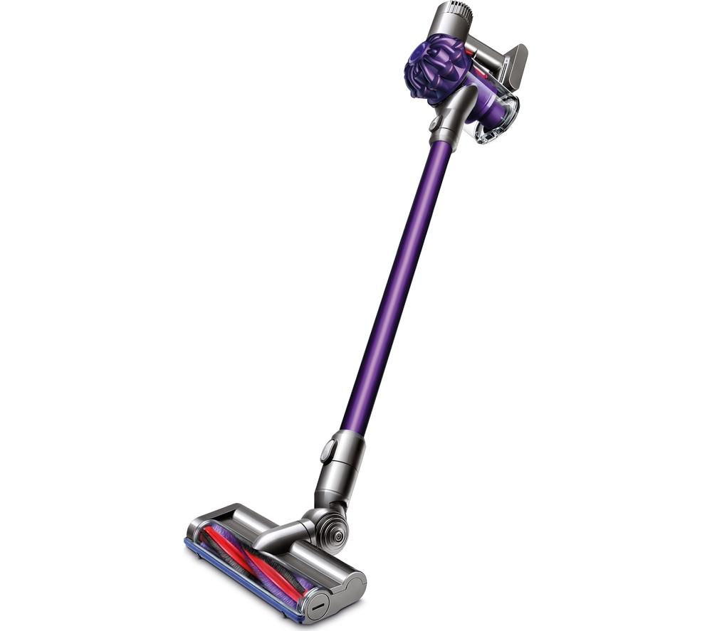 buy dyson v6 animal cordless vacuum cleaner purple free delivery currys