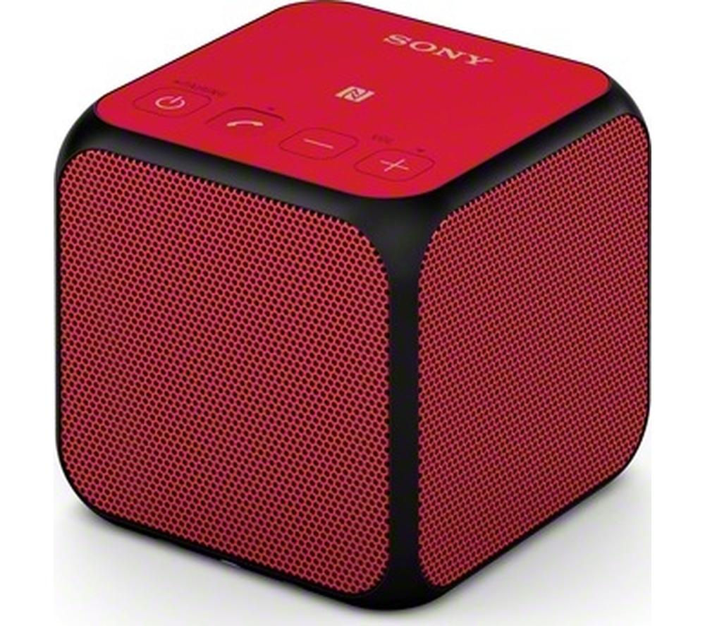 SONY SRS-X11R Portable Bluetooth Wireless Speaker - Red