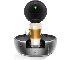 KRUPS Dolce Gusto Drop Automatic Hot Drinks Machine - Silver