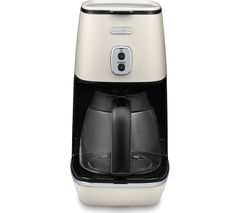 DELONGHI Distinta ICMI211.W Filter Coffee Machine – White
