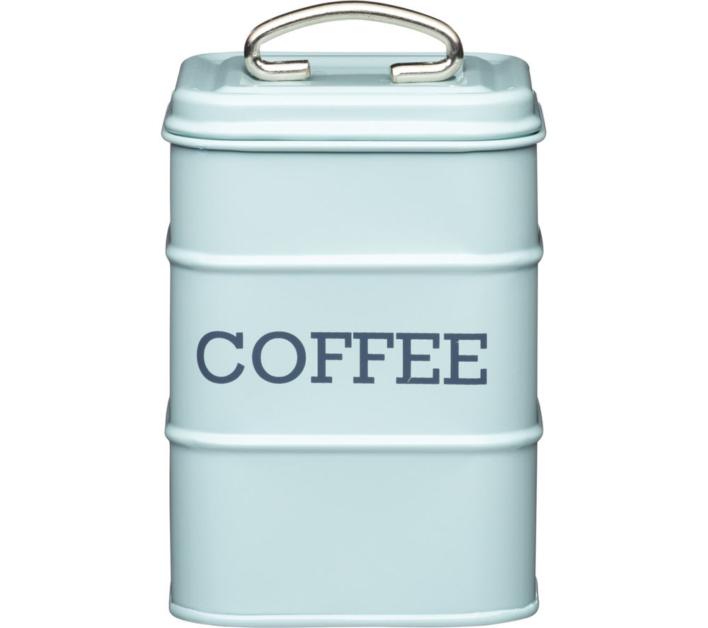 KITCHEN CRAFT Living Nostalgia Vintage Coffee Tin - Blue