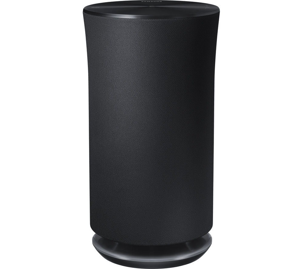 SAMSUNG R5 360° Wireless Smart Sound Multi-Room Speaker - Dark Grey