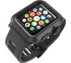 LUNATIK EPIK-001 Apple Watch Polycarbonate Case & Silicone Strap - Black