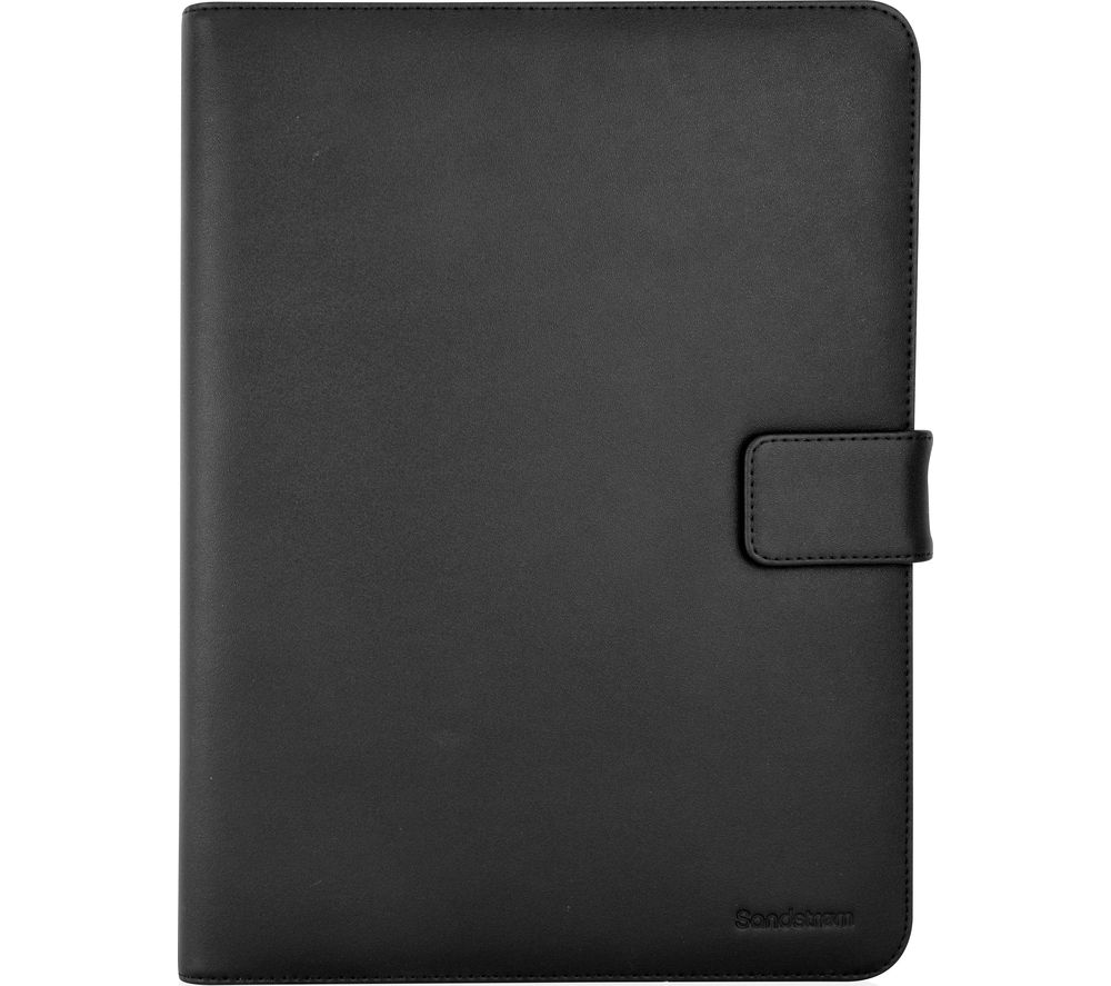 "Image of Sandstrom S10UTB16 10"" Leather Tablet Case - Black"