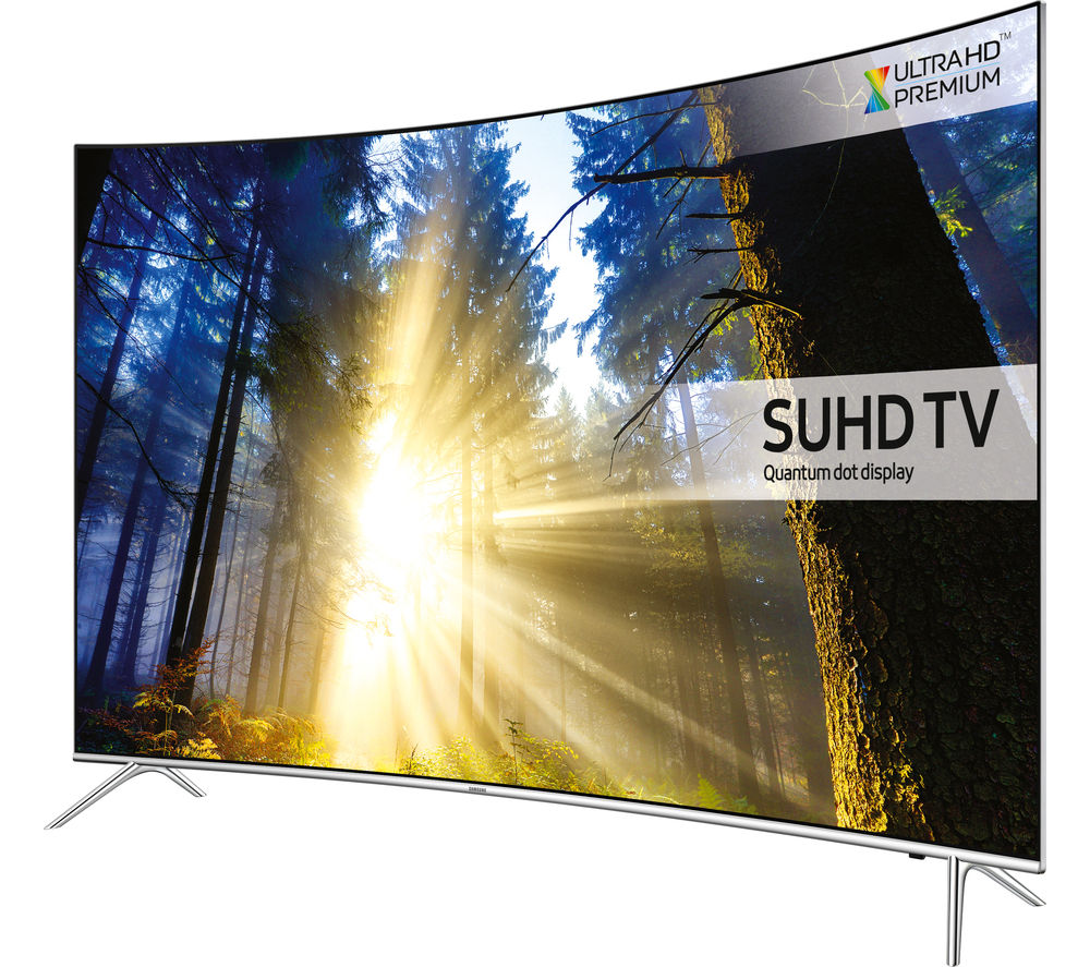 "Image of SAMSUNG UE43KS7500 Smart 4k Ultra HD HDR 43"" Curved LED TV"