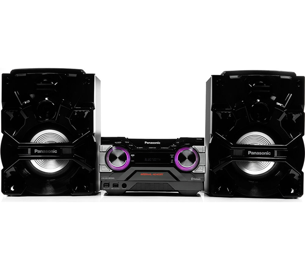 Click to view more of PANASONIC  SC-AKX660E-K Wireless Megasound Hi-Fi System - Black, Black