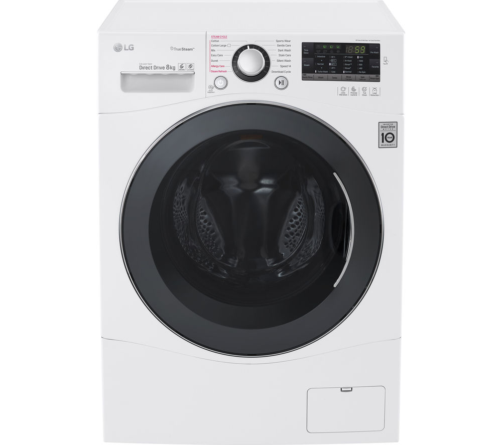 LG  FH4A8TDS2 Washing Machine  White White