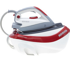 HOOVER IRONsteam SFM4003 Steam Generator Iron - Red & White