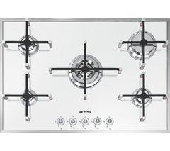 SMEG Linea PVB750 Gas Hob - White