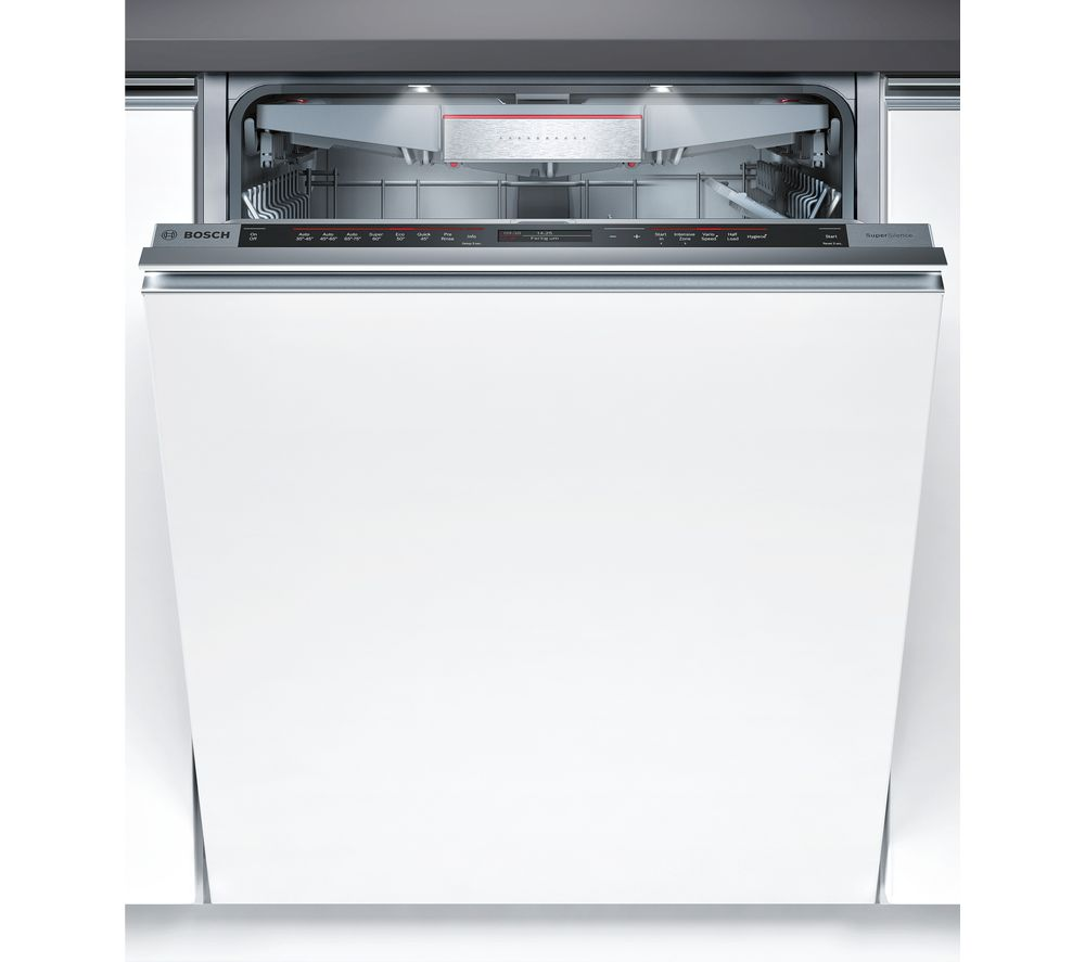 BOSCH  SMV87TD00G Fullsize Integrated Dishwasher