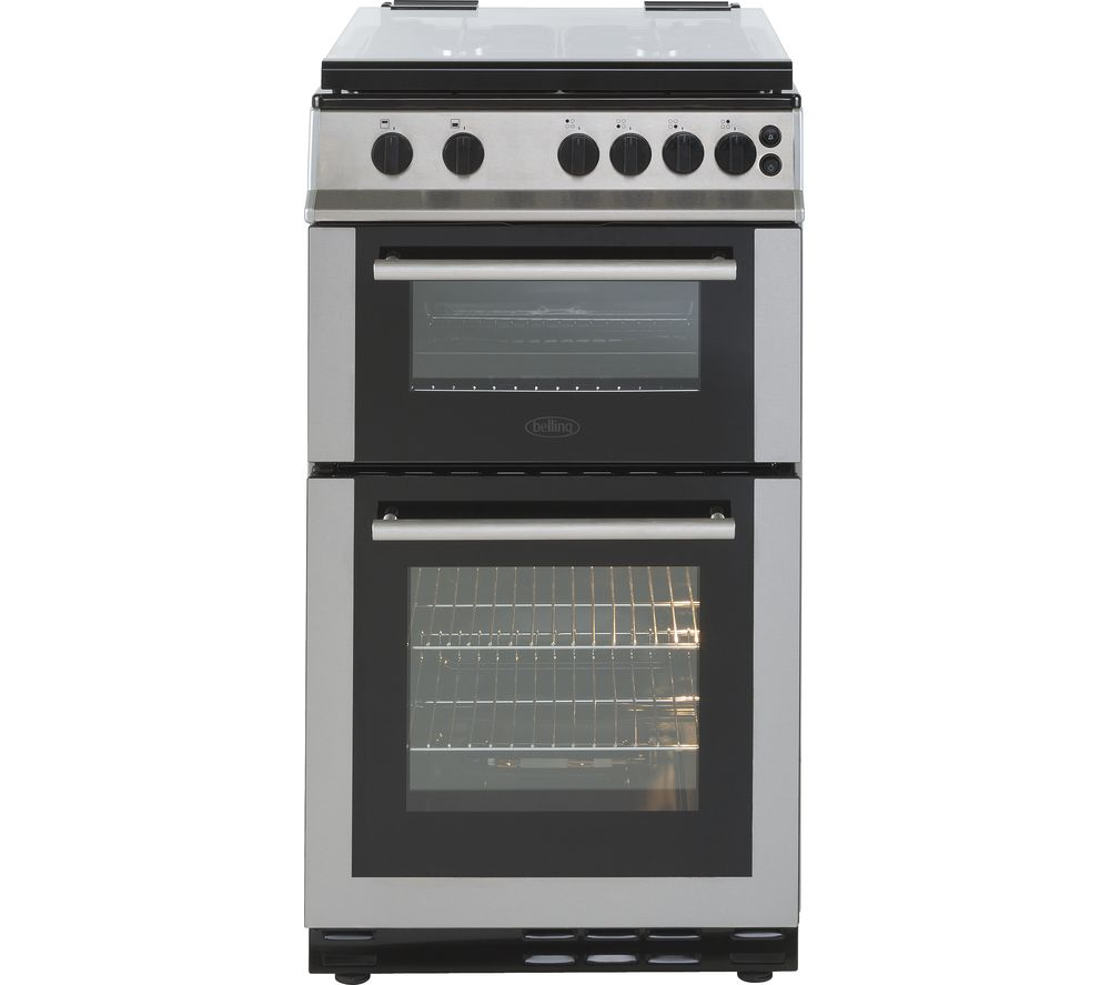 BELLING FS50GTCL Gas Cooker - Stainless Steel