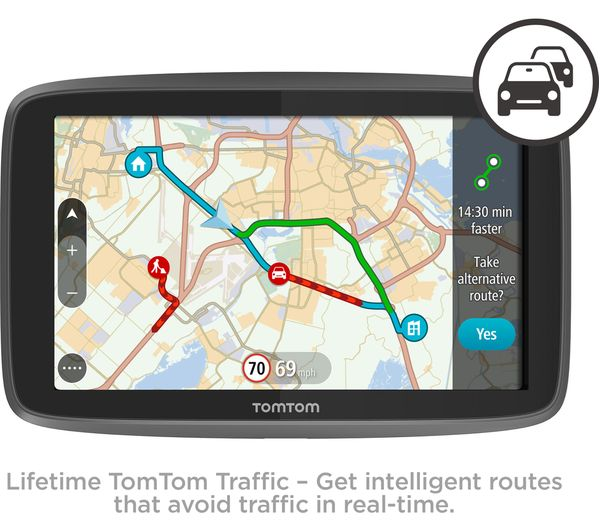 tomtom go 6200 6 sat nav with worldwide maps deals pc. Black Bedroom Furniture Sets. Home Design Ideas