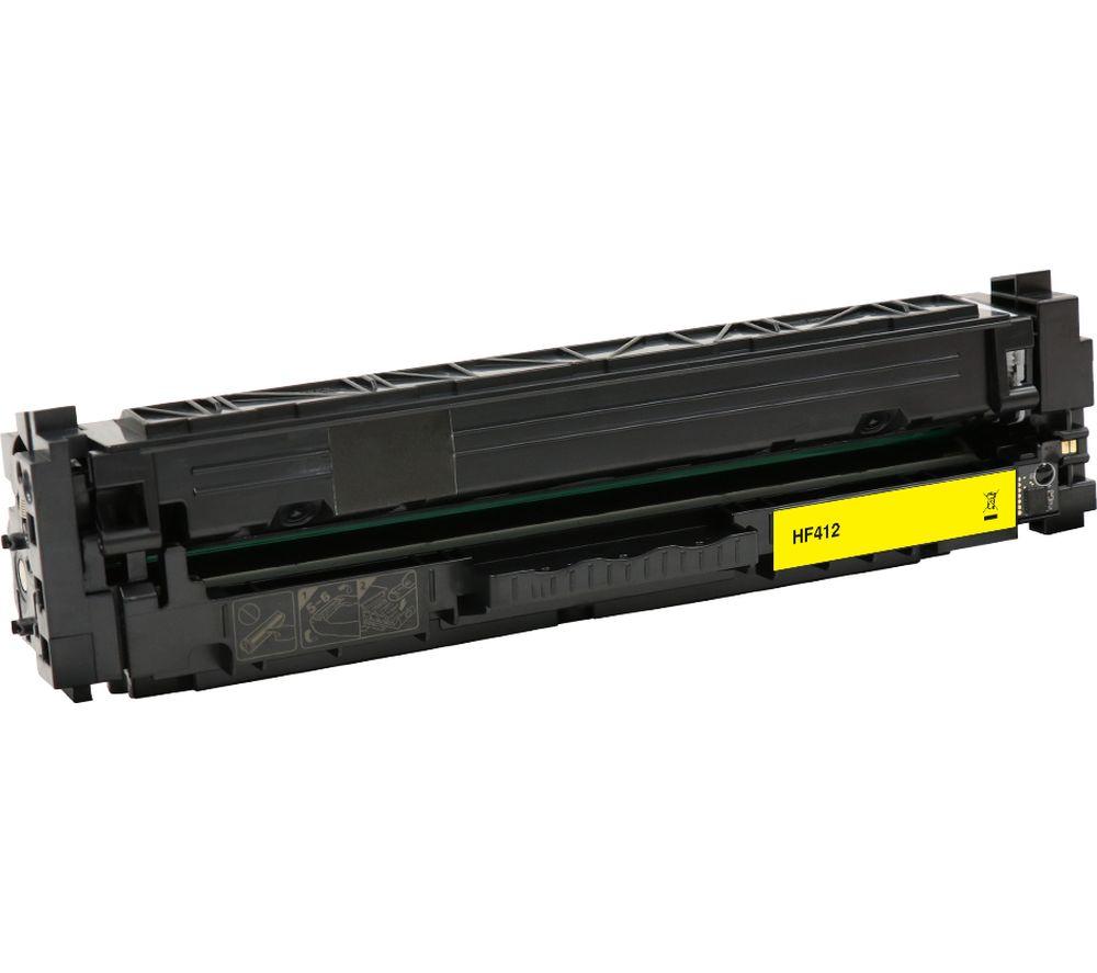 ESSENTIALS Remanufactured CF412A Yellow HP Toner Cartridge
