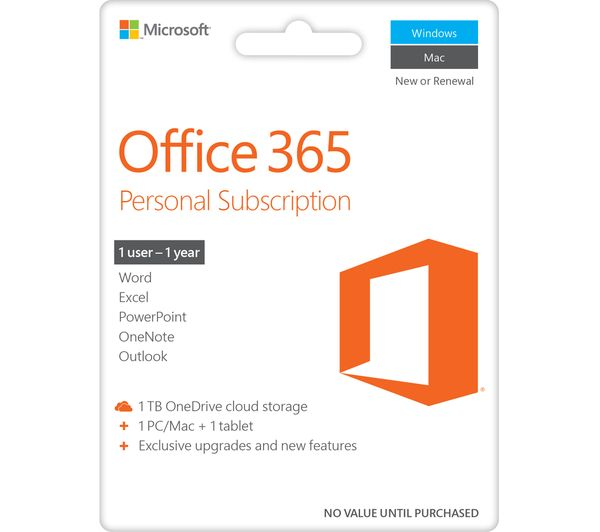 buy microsoft surface pro 4 office 365 personal accessories bundle free delivery currys. Black Bedroom Furniture Sets. Home Design Ideas