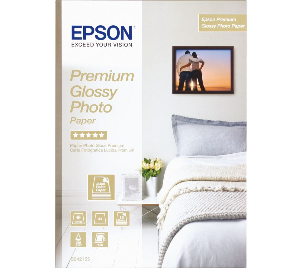 EPSON A4 Photo Paper - 15 Sheets