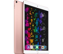 "APPLE 10.5"" iPad Pro Cellular - 256 GB, Rose Gold (2017)"