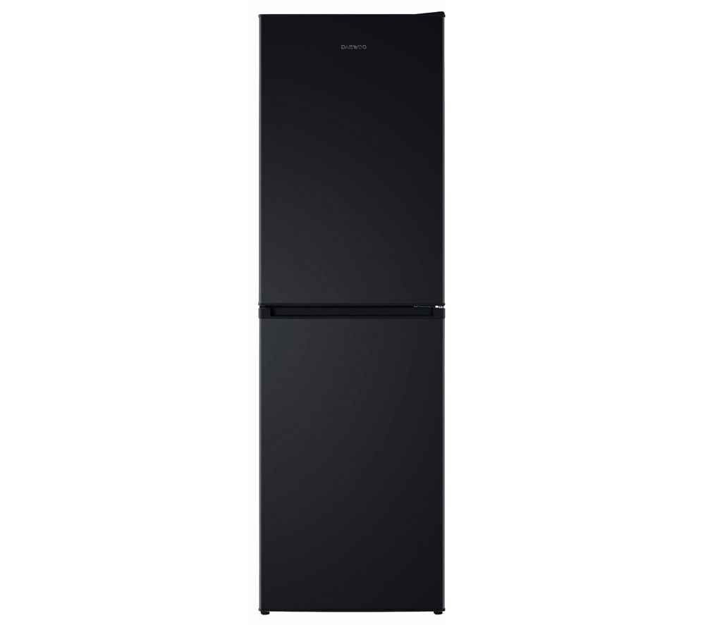 buy daewoo dff470sb 50 50 fridge freezer black free. Black Bedroom Furniture Sets. Home Design Ideas