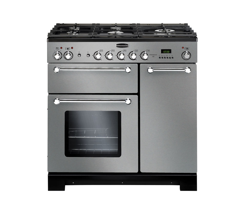 Uncategorized Kitchener Appliance Stores buy rangemaster kitchener 90 dual fuel range cooker stainless steel chrome