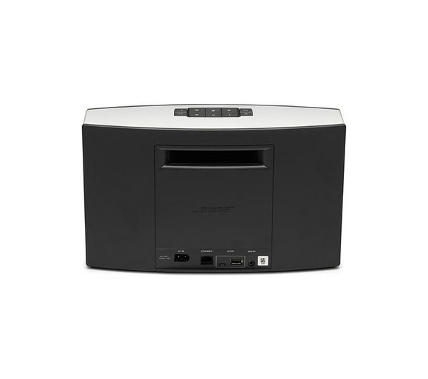 buy bose soundtouch 20 wireless multi room speaker black. Black Bedroom Furniture Sets. Home Design Ideas