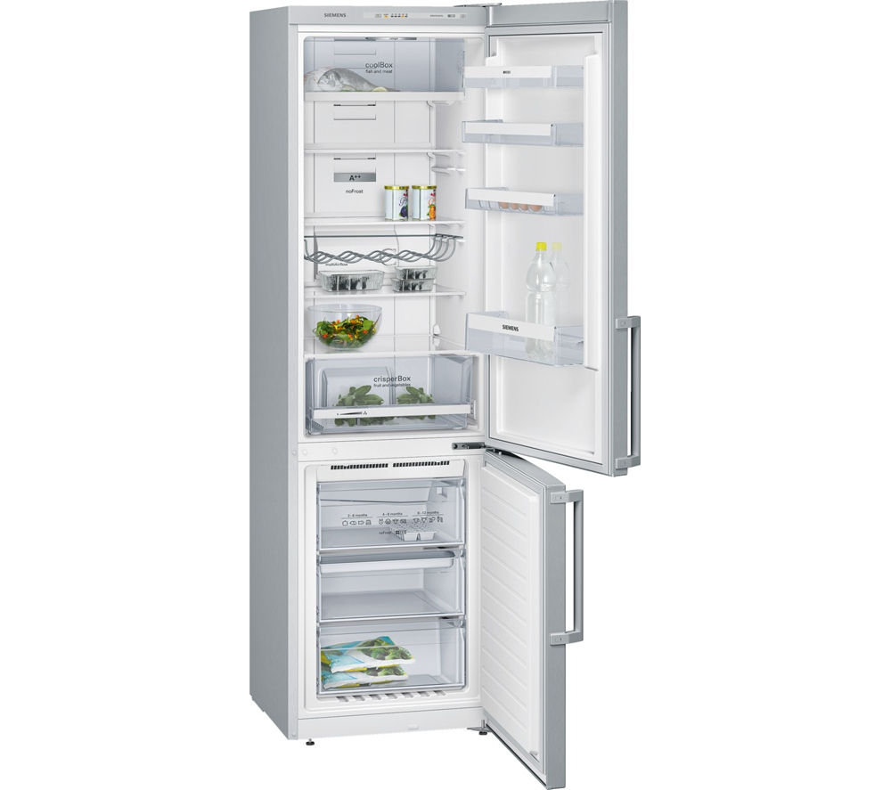 siemens iq300 kg39nvi32g fridge freezer stainless steel. Black Bedroom Furniture Sets. Home Design Ideas