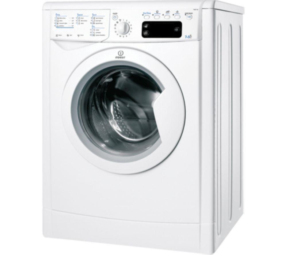 INDESIT IWDE7168 Washer Dryer - White