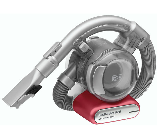 Image of BLACK & DECKER Dustbuster PD1020L Flexi Handheld Vacuum Cleaner - Red