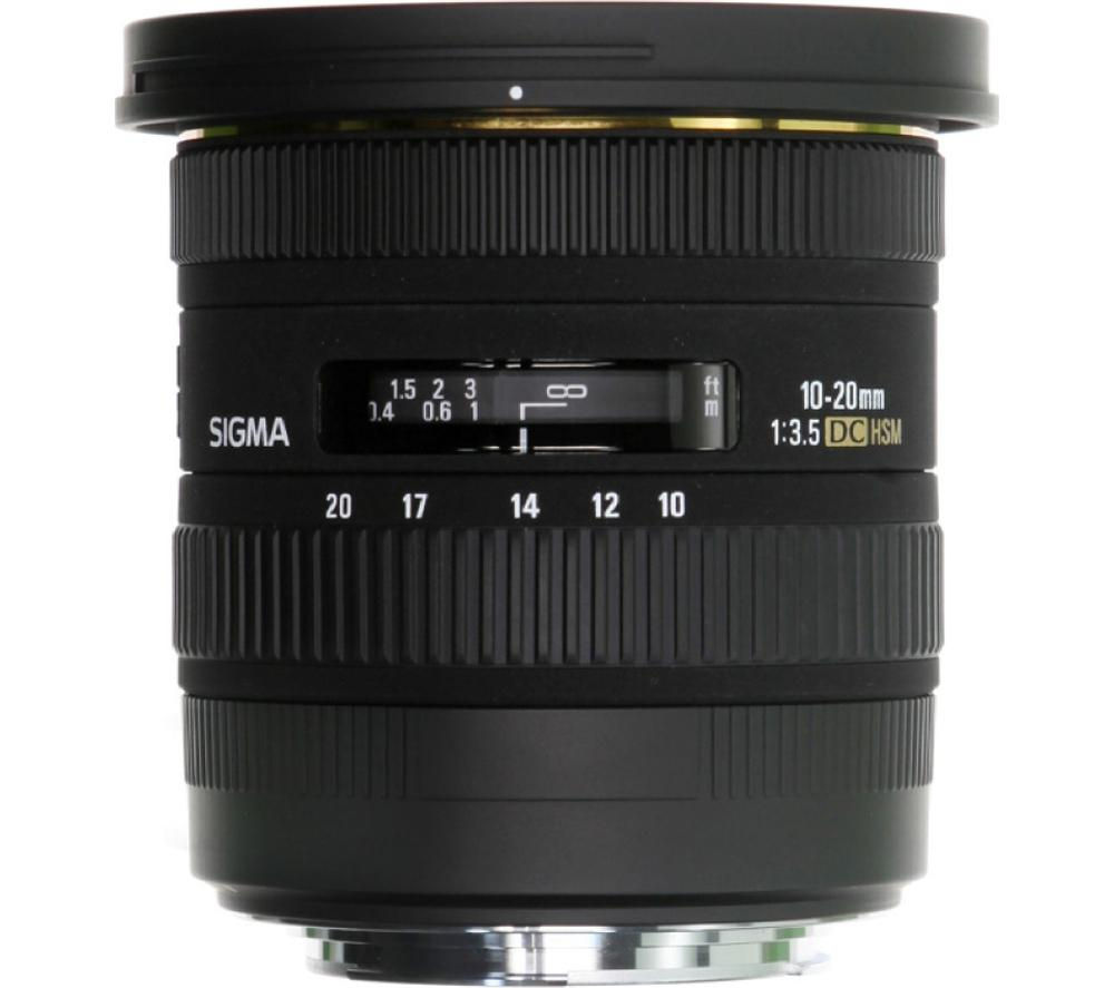 sigma 10 20 mm f 3 5 ex dc hsm wide angle zoom lens for. Black Bedroom Furniture Sets. Home Design Ideas